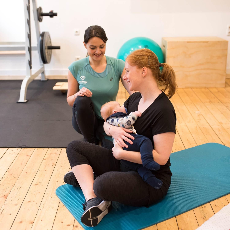 Training Mit Baby Indoor