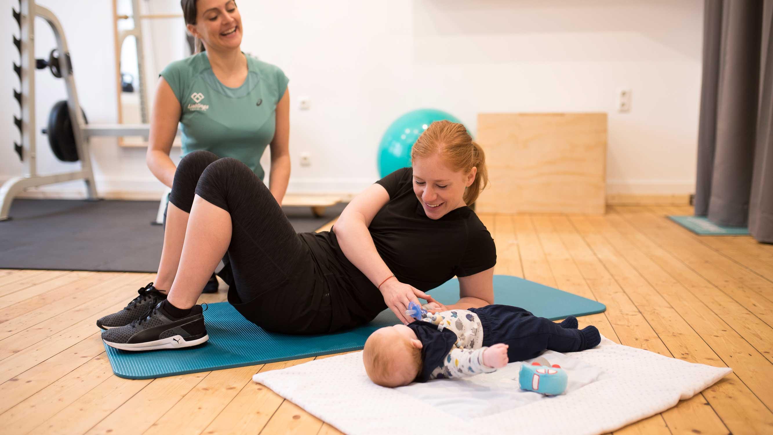 Mama Training Mit Baby