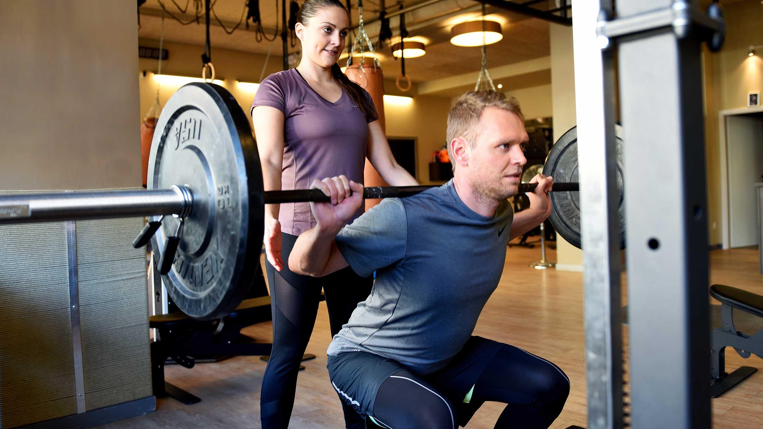 Personal Training Gewichtheben