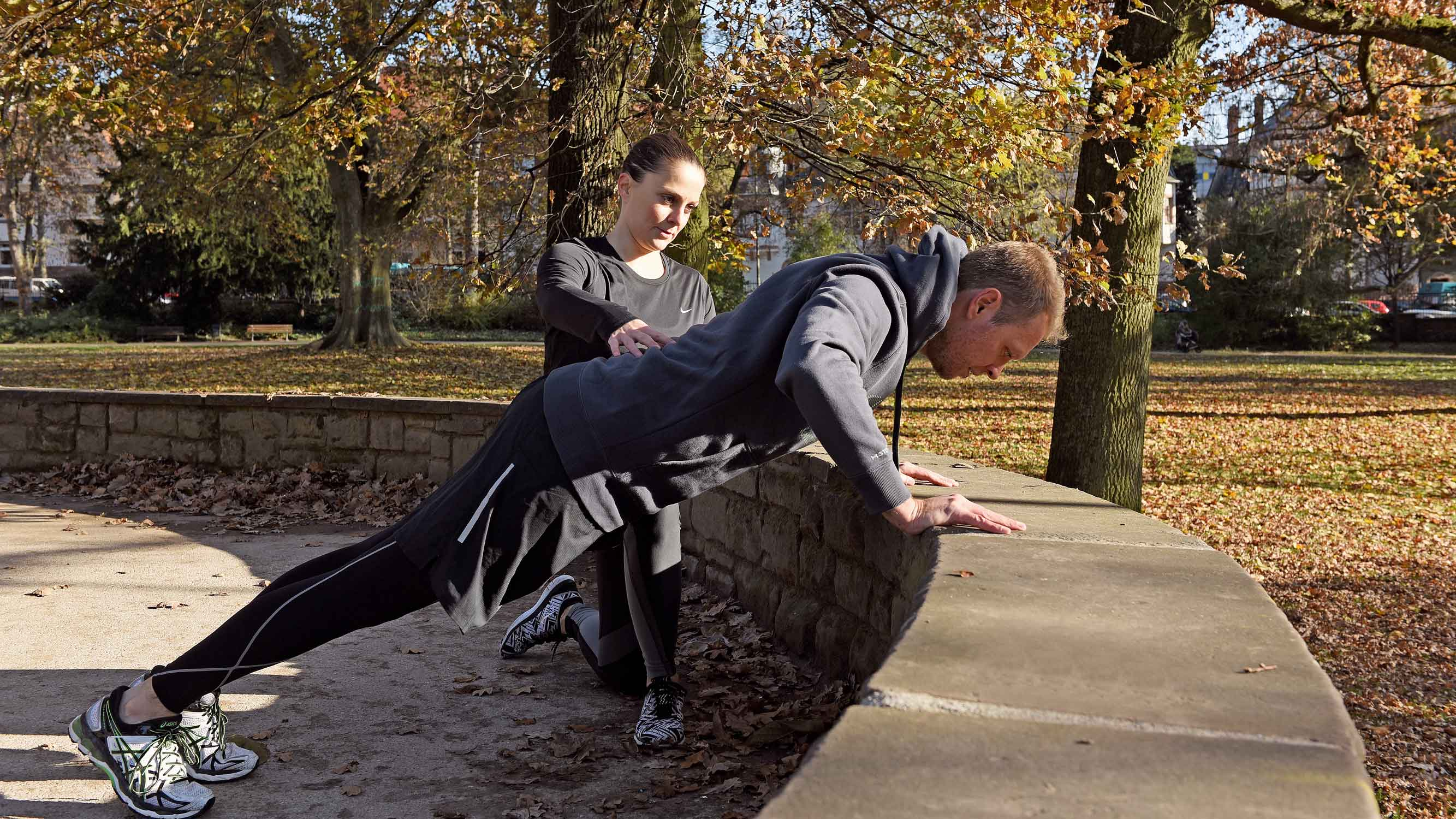 Personal Training Im Park